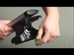 Установка багажника на крышу с <b>упорами Thule 754</b> - YouTube