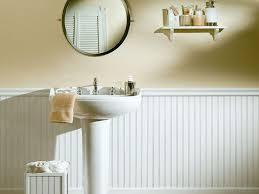 bathroom wainscoting height