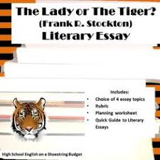 the story to the and poem on pinterest choice of four literary essays with rubric for use with the story the lady