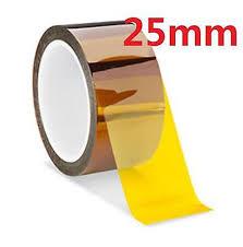 DZ935 25mm 100ft <b>Kapton</b> Tape BGA <b>High Temperature</b> Heat ...