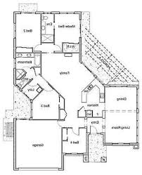 Achitecture Perfect Home Blueprint Ideas With Open Floor Plan     decab c cd Bedroom House Designs B Large Cool House Plans Black White Engaging Open Plan