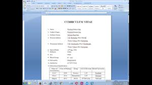 how to create a biodata for job allocation how to create a biodata for job allocation