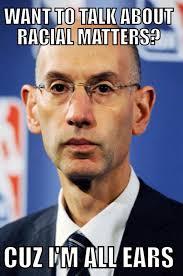"NBA Meme Team on Twitter: ""Adam Silver is all ears. http://t.co ... via Relatably.com"