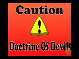 Image result for pictures of Doctrines of Devils