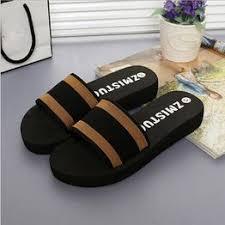 Summer Women Shoes Platform Bath Slippers Wedge Beach ... - Vova