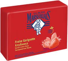 Le Petit Marseillais <b>Мыло экстра мягкое Клубника</b>, <b>90г</b> — купить в ...