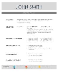 internship resume   resume templatesinternship resume sample