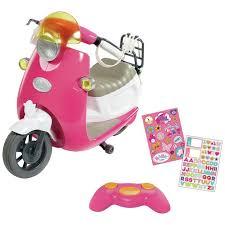 Buy <b>BABY</b> born City <b>Remote</b> Control Scooter   <b>Doll</b> accessories   Argos