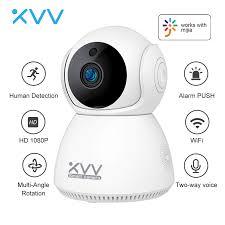 <b>Xiaovv 1080P</b> IP Camera Baby Monitor 360° Panoramic PTZ ...