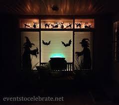 love halloween window decor: halloween door amp window decorations events to celebrate