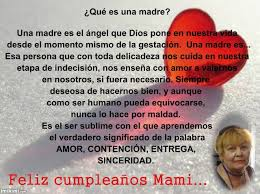 Happy birthday mom- spanish - imikimi.com via Relatably.com