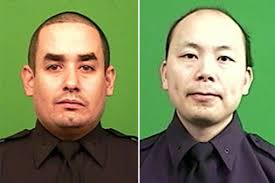 Image result for two cops brooklyn killed