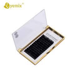 Eyemix Faux <b>Mink</b> Individual <b>Eyelash Extension</b> All Size 8-14mm ...