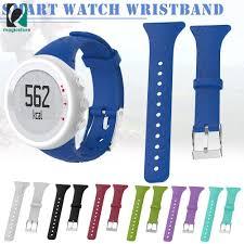 MS   <b>1 Pcs Replacement</b> Silicone Female <b>Watch Band Strap</b> ...