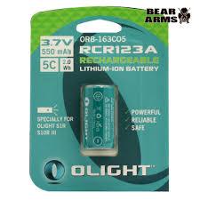 <b>Аккумулятор Olight</b> ORB-163C05 <b>16340 3</b>,<b>7</b> В. 550 mAh – купить в ...