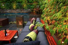 size outdoor living space design wooden