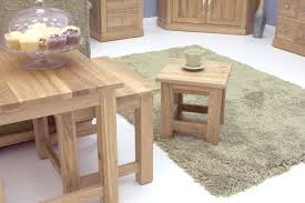 mobel oak nest of 3 coffee tables solid oak furniture free delivery furniture baumhaus mobel oak nest