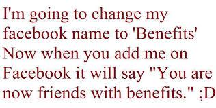 Facebook Friends With Benefits Quotes. QuotesGram via Relatably.com