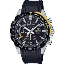 Купить кварцевые <b>часы Casio</b> Edifice <b>efr</b>-<b>566pb</b>-<b>1avuef</b> Black в ...