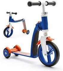 <b>Самокат</b>-беговел трансформер трехколесный <b>Scoot&Ride</b> ...