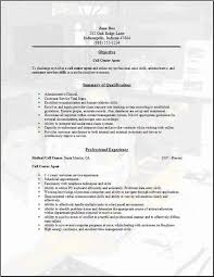 call center sample resumes   Template Cover Letter Templates