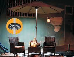 outdoor umbrella lighting patio fireflyflux outdoor patio  led umbrella light