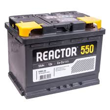 Аккумулятор <b>АКОМ REACTOR</b> 6CT-55.1 прямая полярность <b>55 Ач</b> ...