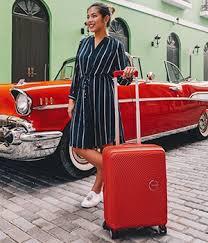 Пластиковый чемодан 51G-24001 SUNSIDE