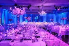 how many up lights to use blue wedding uplighting