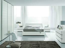 bright natural lighting inside modern bedroom ideas with comfy bed and white dressers bedroom furniture modern white design
