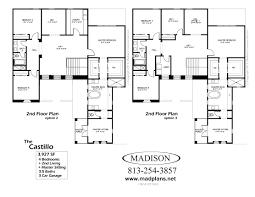 Dining Room Layout Madison Homes A The Castillofloor Plans