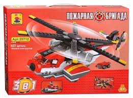 Купить <b>Конструктор Ausini Пожарная</b> бригада 25712 по выгодной ...