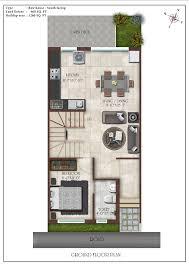 BHK Luxury Villas in Thalambur   Row Houses in Thalambur OMRRow house   South Ground Floor
