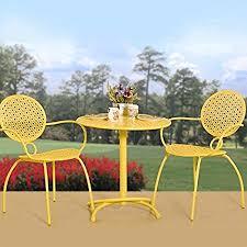 crossman piece outdoor bistro: get quotations middot summer breeze  piece outdoor bistro set
