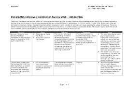 best photos of employee action plan examples sample employee employee survey action plan template