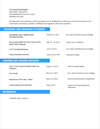 sample resume references section resume templates sample resume references section how to include references on a resume examples sample resume format