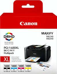 <b>Картридж Canon PGI</b>-1400XL BK/C/M/Y (9185B004), голубой ...