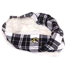 Mizzou Women's Black Faux Fur Lined Cowl Scarf - The Mizzou Store