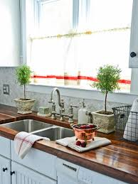 kitchen curtains window sink curtain decor add a hand painted design to linen cafe curtains