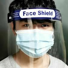 Disposable <b>face shield 5pcs</b> Dental <b>face shield</b> Face <b>mask</b> with eye ...