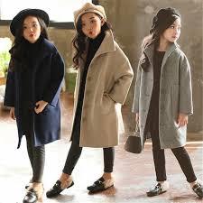 New <b>Autumn Winter</b> Teenage <b>Girls</b> Coats Baby <b>Girls</b> Thick Warm ...
