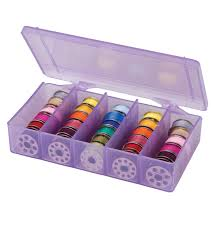 quilting machines embroidery machines sewing jo ann artbin purple bobbin box