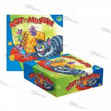 <b>Игра детская настольная</b> DREAM MAKERS Кот и мыши арт.707-38