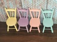 dollhouse chairs are a necessity for any room next to a table fireplace or bed these chairs will add to your diorama or dollhouse room ive vintage modern dollhouse furniture 1200 etsy