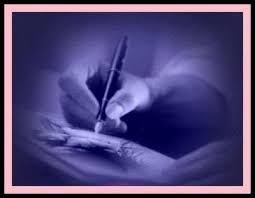 Resultado de imagen para escribiendo con pluma