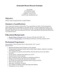 medical surgical nurse resume sample resume template info graduated nurse resume example med surg rn resume template