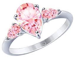 SOKOLOV <b>Кольцо с 3 фианитами</b> из серебра 94012751 — купить ...