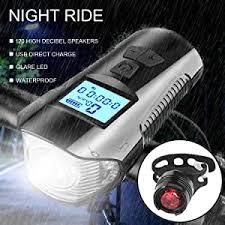 Ewolee <b>Bike</b> Computer <b>Waterproof Bike</b> Light Set <b>Bicycle</b> ...