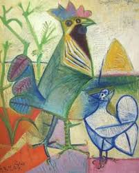 Image result for picasso rooster painting