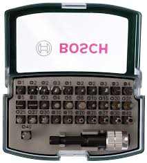 <b>Набор бит</b> COLORED <b>32 предмета</b> Bosch 2607017063 - цена ...
